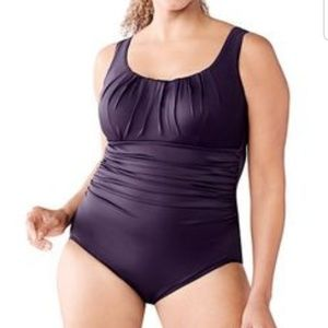 Tropical Print Land's End bathing suit